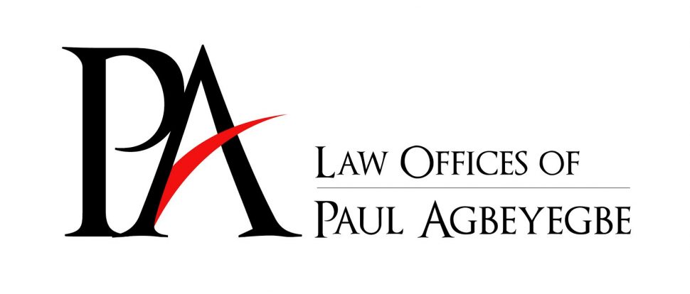 The Law Offices Of Paul Agbeyegbe logo.